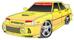 An Artists impression of a Tredia Evolution!